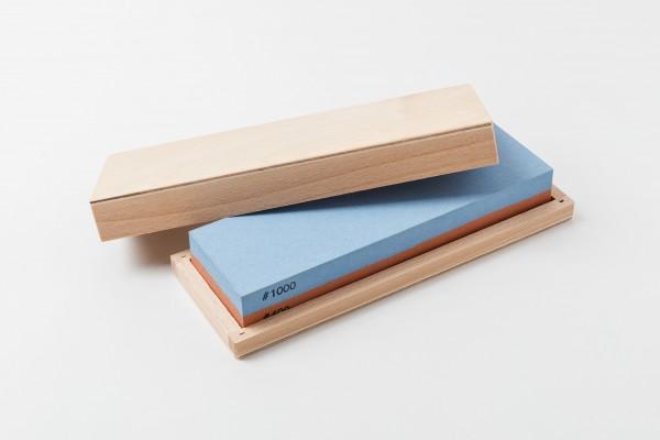 Schärfstein in Holzbox 400/1000