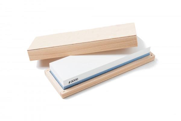 Schärfstein in Holzbox 1000/3000